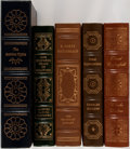 Books:Literature 1900-up, [Literature]. Various Authors. Group of Five. Easton Press.Includes works from F. Scott Fitzgerald, Charles Dickens, and ot...(Total: 5 Items)