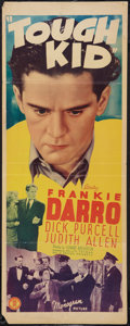 "Movie Posters:Sports, Tough Kid (Monogram, 1938). Insert (14"" X 36""). Sports.. ..."