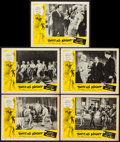 "Movie Posters:Rock and Roll, Twist All Night (American International, 1962). Lobby Cards (5)(11"" X 14""), and Photos (4) (8"" X 10""). Rock and Roll.. ... (Total:9 Items)"