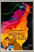 """Movie Posters:Animation, Sleeping Beauty (Buena Vista, R-1979). One Sheet (27"""" X 41"""") &Uncut Pressbook (11"""" X 14"""") Style A. Animation.. ... (Total: 2Items)"""