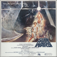 "Star Wars (20th Century Fox, 1977). International Six Sheet (77"" X 77""). Science Fiction"