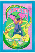 "Movie Posters:Animation, Fantasia (Buena Vista, R-1970). One Sheet (27"" X 41"") & Poster(40"" X 60""). Animation.. ... (Total: 2 Items)"