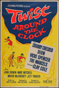 """Movie Posters:Rock and Roll, Twist Around the Clock and Other Lot (Columbia, 1961). Posters (2)(40"""" X 60""""). Rock and Roll.. ... (Total: 2 Items)"""