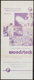 "Movie Posters:Rock and Roll, Woodstock and Others Lot (Warner Brothers, 1970). AustralianDaybills (5) (13"" X 30""). Rock and Roll.. ..."