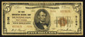 National Bank Notes:West Virginia, Huntington, WV - $5 1929 Ty. 2 The First Huntington NB Ch. # 3106....