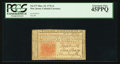 Colonial Notes:New Jersey, New Jersey March 25, 1776 3s PCGS Extremely Fine 45PPQ.. ...