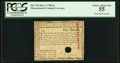 Colonial Notes:Massachusetts, Massachusetts May 5, 1780 $1 Hole Cancel PCGS Choice About New 55.....