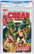 Bronze Age (1970-1979):Adventure, Conan the Barbarian #8 (Marvel, 1971) CGC VF/NM 9.0 White pages....