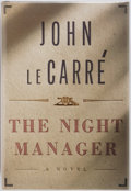 Books:Fiction, John Le Carré. SIGNED. The Night Manager. Alfred A. Knopf,1993. First edition. Publisher's original cloth and ...