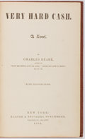 Books:Literature Pre-1900, Charles Reade. Very Hard Cash. Harper & Brothers, 1864.First edition. With illustrations in text. Publisher's o...