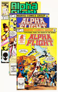 Modern Age (1980-Present):Superhero, Alpha Flight #1-106 Near Complete Group (Marvel, 1983-92)Condition: Average NM.... (Total: 96 Comic Books)