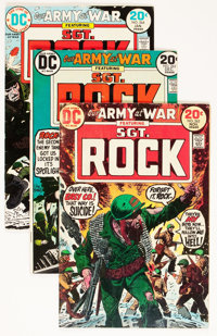 Our Army at War/Our Fighting Forces Group (DC, 1970s) Condition: Average GD.... (Total: 93 Comic Books)