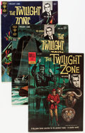 Silver Age (1956-1969):Horror, Twilight Zone Box Lot (Dell, 1962-82) Condition: Average VG+....