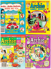 Archie Comics Digest Short Boxes Group (Archie, 1970s-80s) Condition: Average FN+.... (Total: 3 Box Lots)