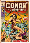 Bronze Age (1970-1979):Miscellaneous, Conan the Barbarian #1-48 Bound Volumes (Marvel, 1970-74)....(Total: 3 Items)