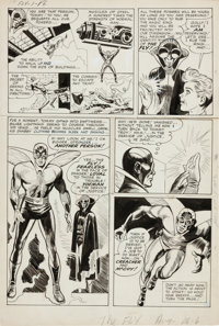 Jack Kirby and Joe Simon The Fly #1 Page 6 Original Art (Harvey, 1959)