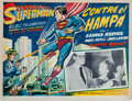 Memorabilia:Movie-Related, Superman in Scotland Yard Mexican Lobby Card (1954). ...
