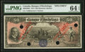 Canadian Currency: , Montreal, PQ- Banque D'Hochelaga $50 Jan. 1, 1914 Ch. # 360-22-08SSpecimen . ...
