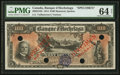 Canadian Currency: , Montreal, PQ- Banque D'Hochelaga $100 Jan. 1, 1914 Ch. # 360-22-10SSpecimen . ...