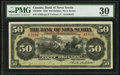 Canadian Currency: , Halifax, NS- The Bank of Nova Scotia $50 July 2, 1920 Ch. #550-28-26. ...
