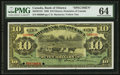 Canadian Currency: , Ottawa, ON- The Bank of Ottawa $10 June 1, 1906 Ch. # 565-20-12SSpecimen. ...