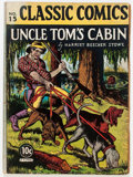 Golden Age (1938-1955):Classics Illustrated, Classic Comics #15 Uncle Tom's Cabin - First Edition (Gilberton,1943) Condition: GD/VG....