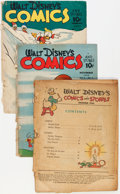 Golden Age (1938-1955):Miscellaneous, Comic Books - Golden Age Coverless Comics Group (Various Publishers, 1940s-'50s) Condition: Coverless.... (Total: 40 Items)