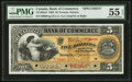 Canadian Currency: , Toronto, ON- The Canadian Bank of Commerce $5 Jan. 2, 1892 Ch. # 75-14-04aS Specimen. ...