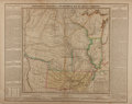 """Books:Maps & Atlases, [Antique Map] """"Geographical, Statistical, and Historical Map of Arkansa Territory"""". 22.5"""" x 17.75"""". Created by Major S. H. L..."""