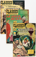 Golden Age (1938-1955):Classics Illustrated, Classics Illustrated Group (Gilberton, 1947-50) Condition: Average VG.... (Total: 10 Comic Books)