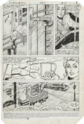 Original Comic Art:Panel Pages, Carmine Infantino and Frank McLaughlin Flash #347 Page 1Original Art (DC, 1985)....