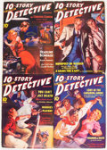 Pulps:Detective, 10-Story Detective Magazine Group (Periodical House (Ace Magazines), 1939-40) Condition: Average VG+.... (Total: 14 Items)