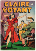 Golden Age (1938-1955):Crime, Claire Voyant #2 (Pentagon, 1946) Condition: VG+....