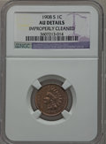 1908-S 1C -- Improperly Cleaned -- NGC Details. AU. NGC Census: (51/577). PCGS Population (102/535). Mintage: 1,115,000...