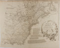 "Books:Maps & Atlases, [Antique Map] ""North America Performed Under the Patronage of LouisDuke of Orleans First Prince of the Blood"". 23.5"" x 18.5..."