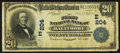 National Bank Notes:Maryland, Baltimore, MD - $20 1902 Date Back Fr. 642 The First NB Ch. #(E)204. ...