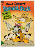 Golden Age (1938-1955):Cartoon Character, Four Color #199 Donald Duck (Dell, 1948) Condition: VG+....