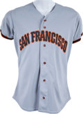 Baseball Collectibles:Uniforms, 1995 Deion Sanders Game Worn San Francisco Giants Jersey - With Team Provenance. ...