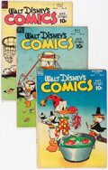 Golden Age (1938-1955):Cartoon Character, Walt Disney's Comics and Stories Group (Dell, 1948-54) Condition:Average VG-.... (Total: 38 Comic Books)
