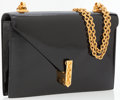 Luxury Accessories:Bags, Hermes Black Patent Leather Alcazar Shoulder Bag with GoldHardware. ...