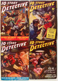 Pulps:Detective, 10-Story Detective Magazine Box Lot (Ace Magazines, 1941-49) Condition: VG+....