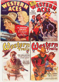 Pulps:Western, Western Trails/Western Aces Group (Atlas, 1930-44).... (Total: 20 Items)