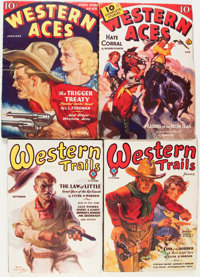 Western Trails/Western Aces Group (Atlas, 1930-44).... (Total: 20 Items)