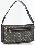 Luxury Accessories:Bags, Louis Vuitton Black Mini Monogram Pochette Bag. ...