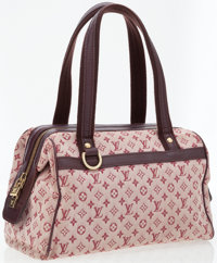 Louis Vuitton Red Mini Monogram Josephine Bag