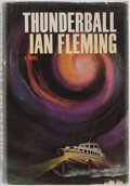 Books:Mystery & Detective Fiction, [Bond]. Ian Fleming. Thunderball. New York: Viking Press,1961. First American edition. Original price clipped from ...