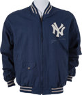 Autographs:Others, 1980's Mickey Mantle Signed Jacket....