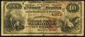 National Bank Notes:Kentucky, Louisville, KY - $10 1882 Brown Back Fr. 487 The American NB Ch. #(S)4956. ...
