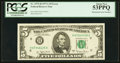 Fr. 1975-H $5 1977A Federal Reserve Note. PCGS About New 53PPQ
