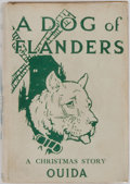 Books:Children's Books, Ouida. Hiram P. Barnes. Illustrator. A Dog of Flanders.Chicago: M. A. Donohue & Co., 1914. First edition. Publisher...
